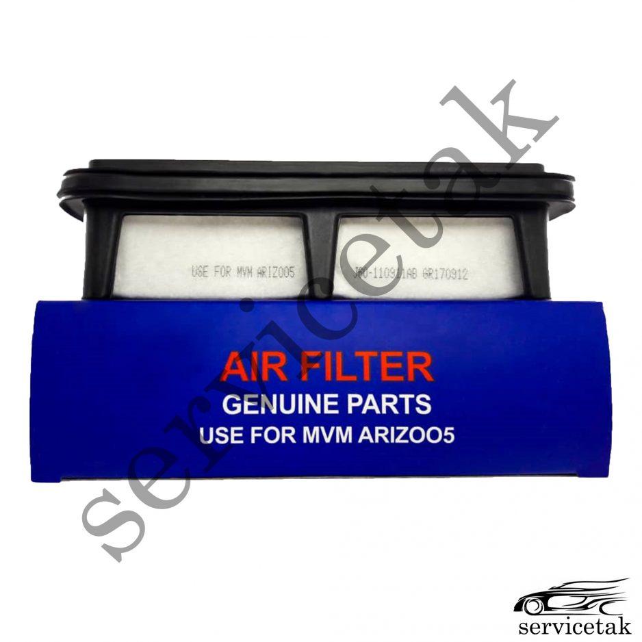 فیلتر هوای چری آریزو ۵ – کد فنی J60-110911AB